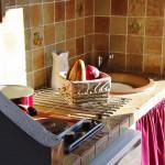 une kitchenette intégrée